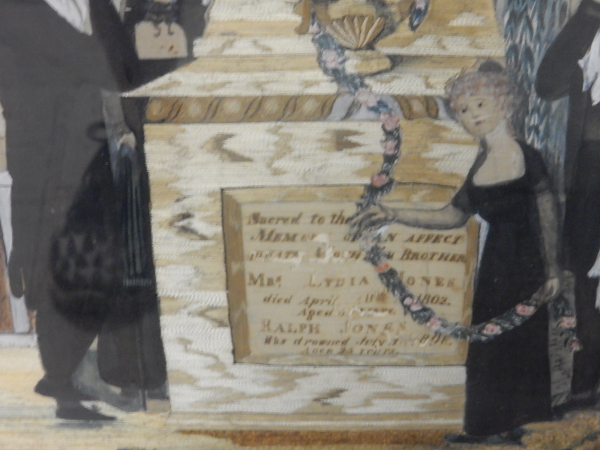Funeral Painting Detail