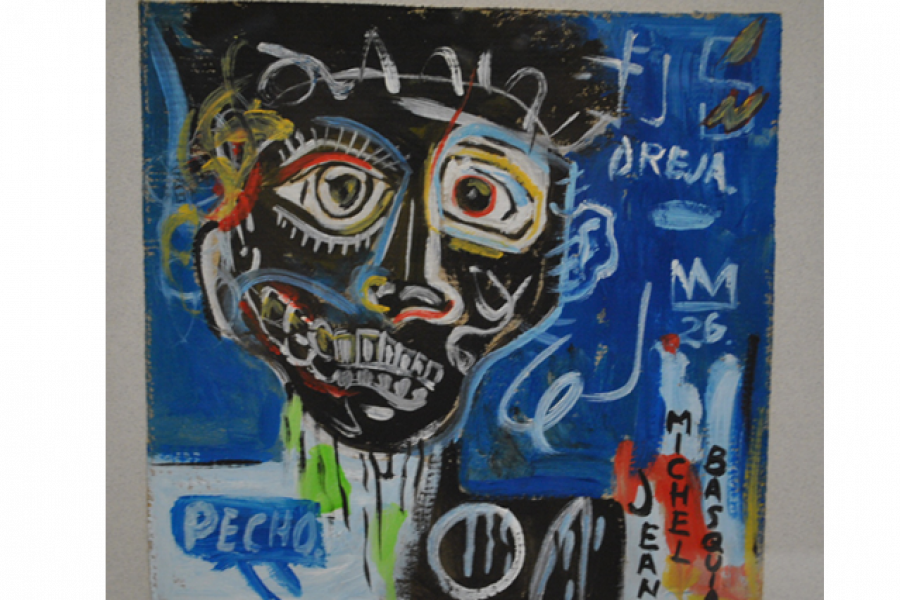 Basquiat Painting